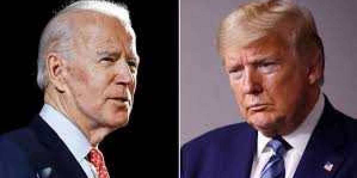 New polls show Joe Biden leading Donald Trump ahead of elections