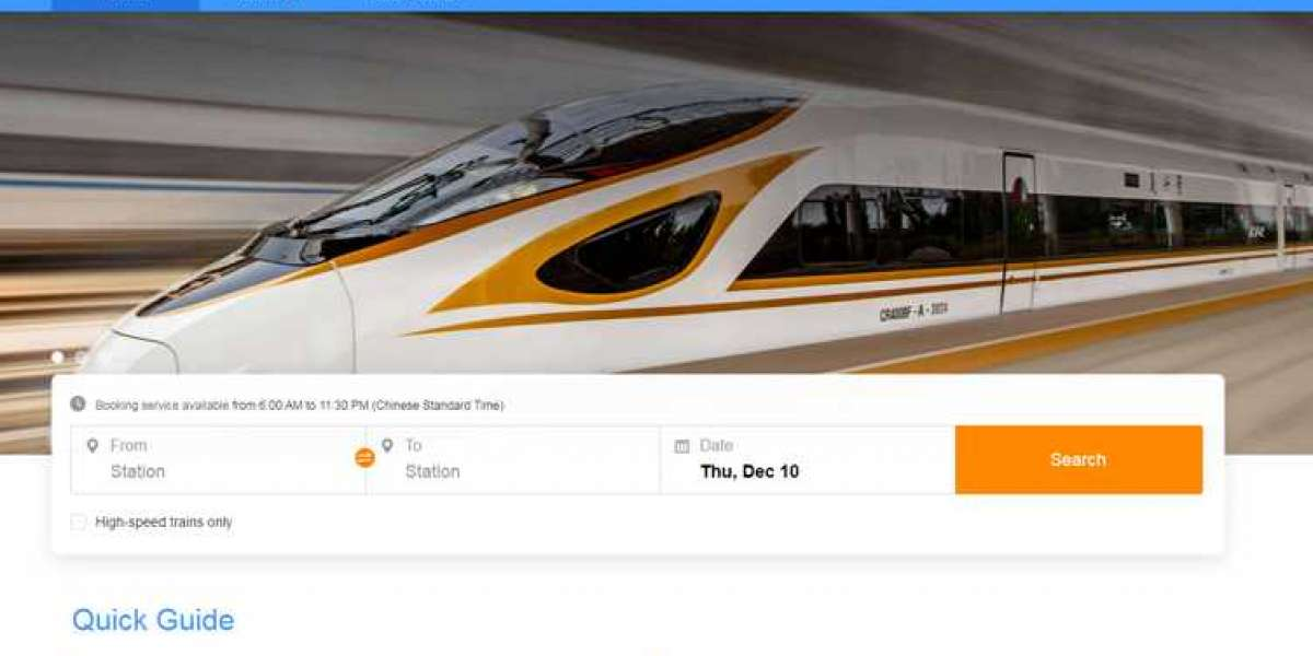 The People's Republic of China releases the English Version of it's official railway website