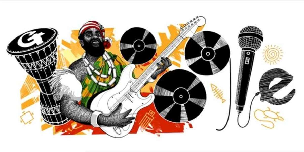 Google changes its doodle to honor Nigerian music icon Oliver de Coque on 74th posthumous birthday