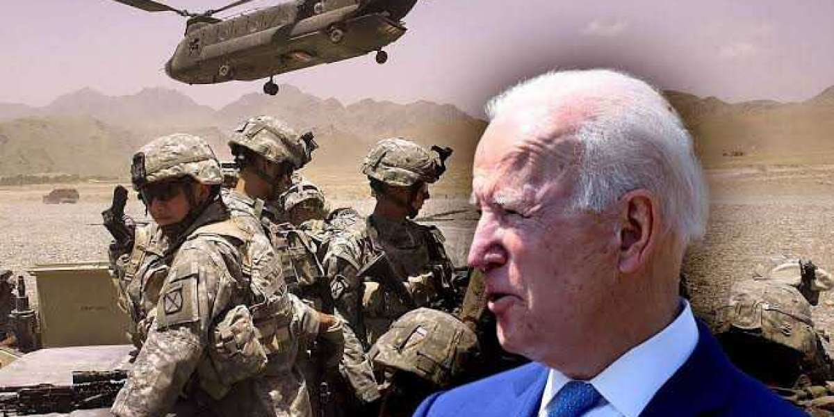 'It's time to end America's longest war' - Biden announces troops will leave Afghanistan 20 years af