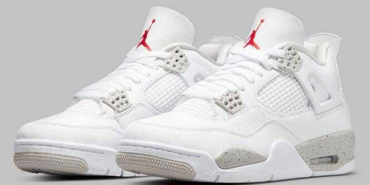 Best Chance to Cop Discount Air Jordan 4 White Oreo this Weekend