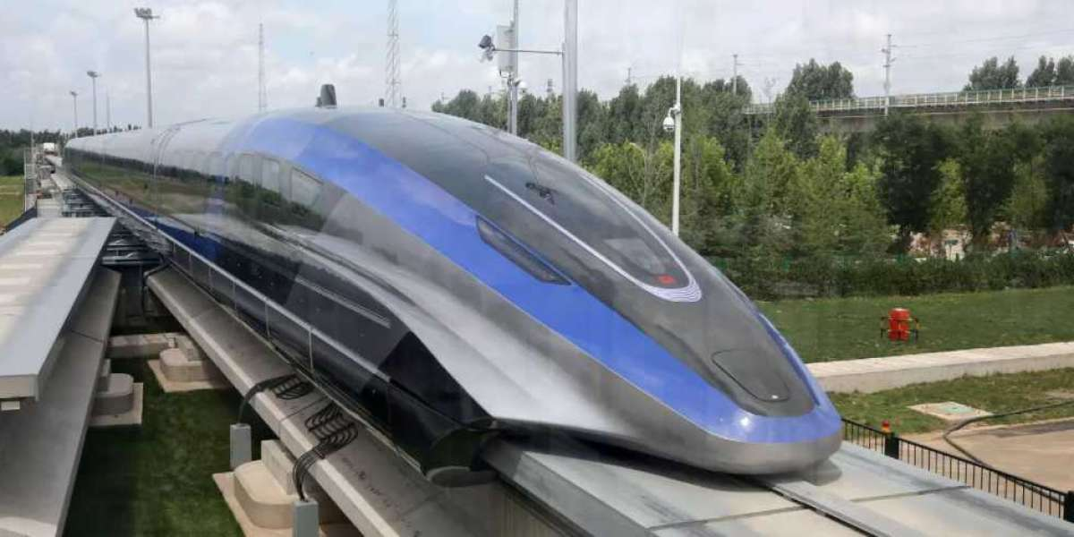 This new 'levitating' Chinese train will be the fastest in the world