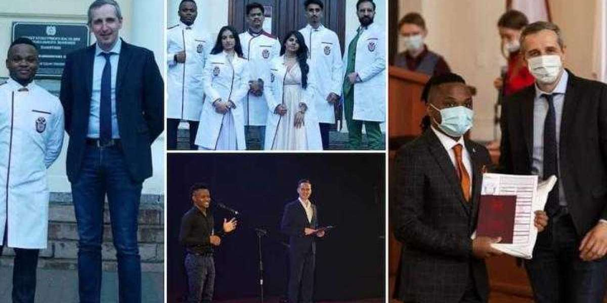 Nigerian medical student breaks 133-year-old record as he graduates from Russian varsity with a 5.0/5.0 CGPA