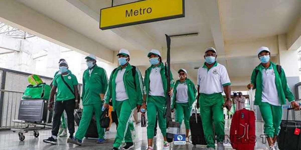 Team Nigeria's first batch departs for Tokyo