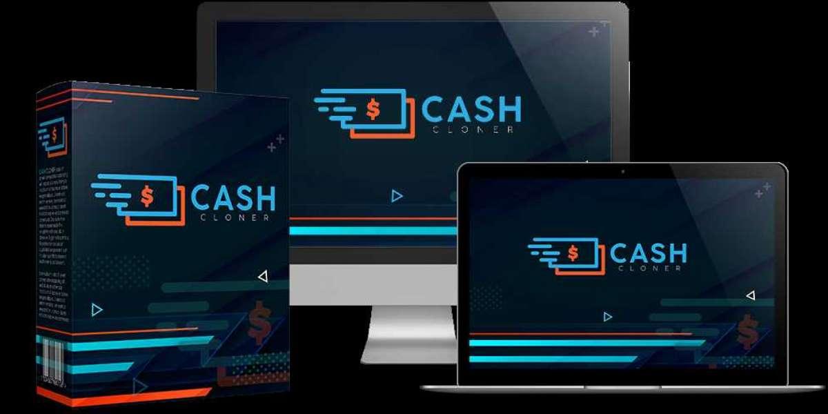 "Introducing ""Cash Cloner - 100 % COMMISSIONS."""